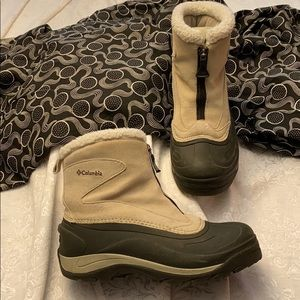 Suede Columbia Cascadian Snowchill Winter Boots